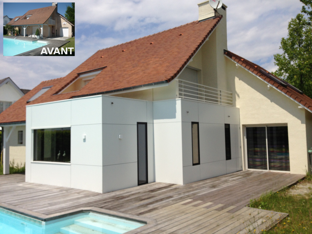 Prix extension maison parpaing devis tous travaux 02 for Extension prix